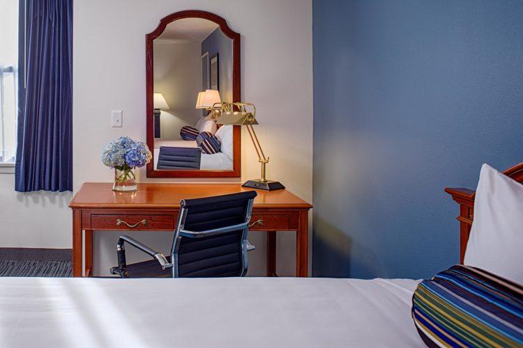 side workstation in guest hotel room